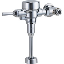 "Chrome Teck® Exposed Urinal Flush Valve For 3/4"" Top Spud"