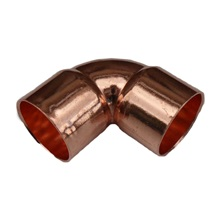"90° Elbow, 1/2"", C x C, Wrot Copper Pressure"