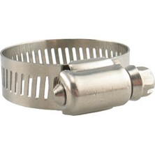 "Hose clamp, 13/16"" to 1-1/2"" Stainless Steel"
