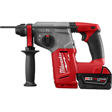 "M18™ 1"" SDS Plus Wireless Rotary Hammer Kit With 2 Batteries Charger & Case"