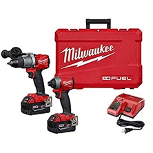 "M18 FUEL™ 2-Tool Combo Kit With 1/2'' Hammer Drill And 1/4"" Hex Impact Driver"